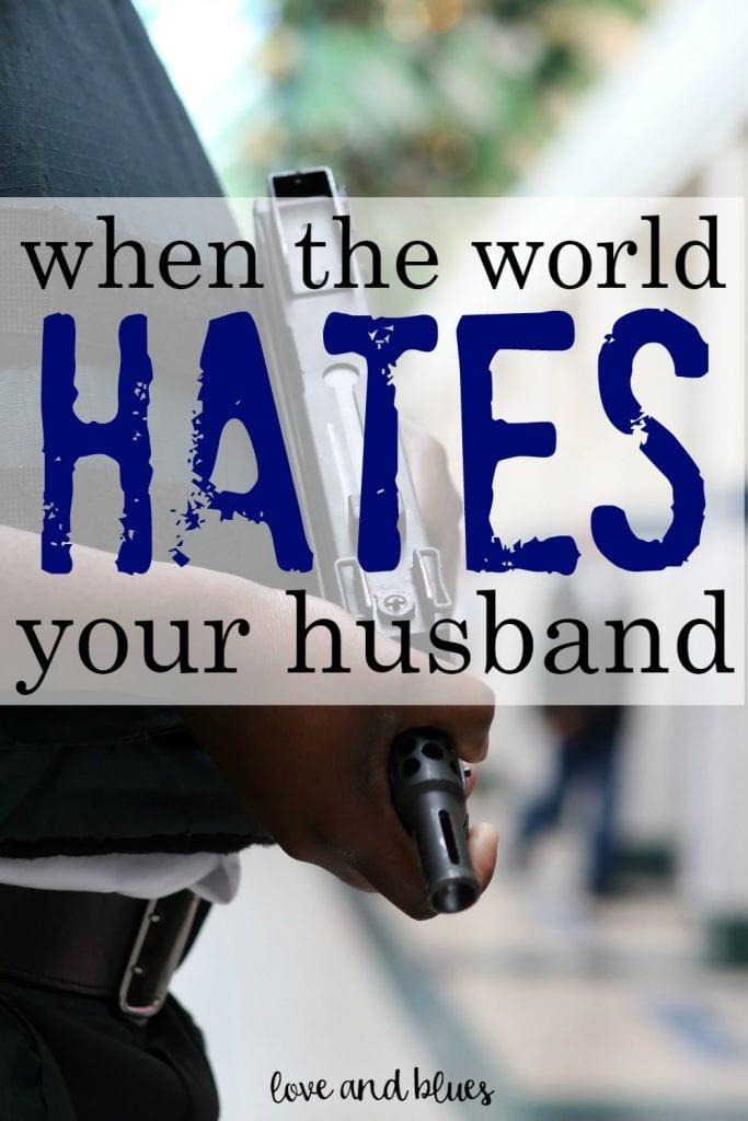 Great reminder.  It's so hard to be a police wife right now but this gives me a lot of hope. <3