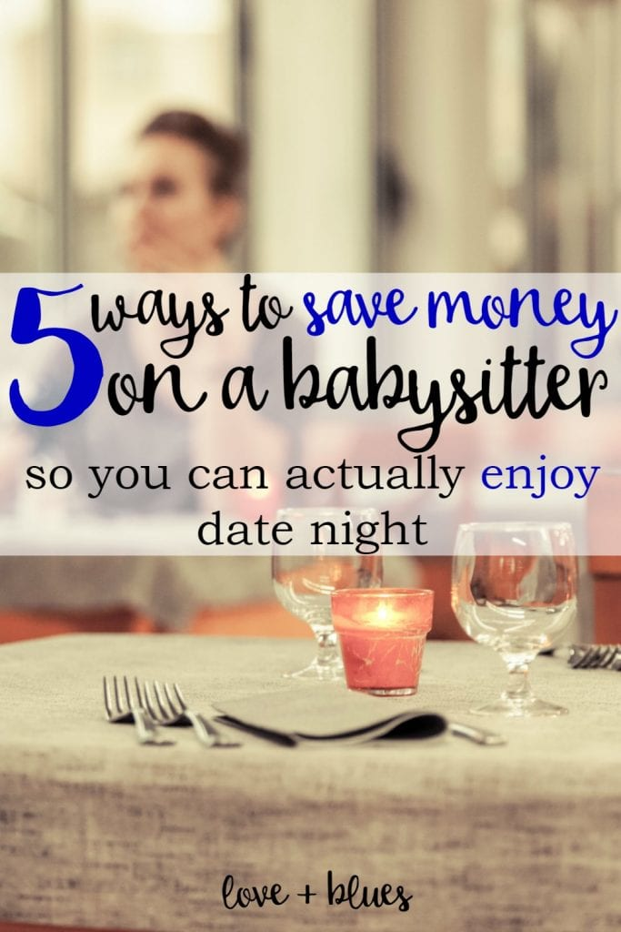 Love!  As a police wife it's hard enough to find the time to go on a date... let alone the money... and paying for a babysitter can totally kill our budget.  Argh!  But these are great tips :)
