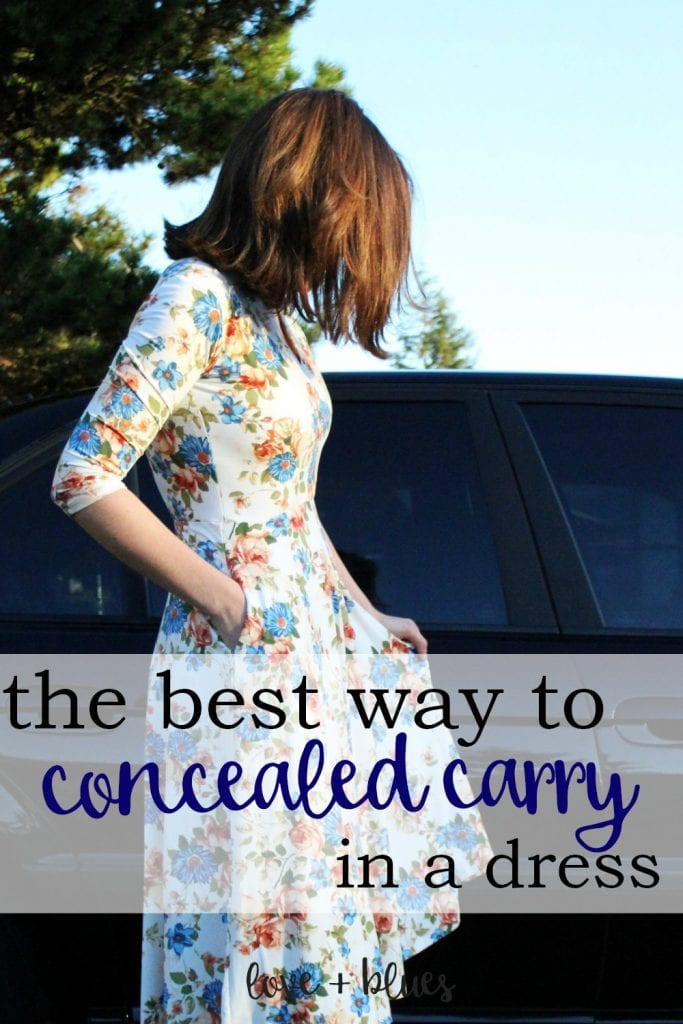 Love this!  This is awesome.  I love wearing dresses in the summer but feel naked without my gun :/ this is a great idea.