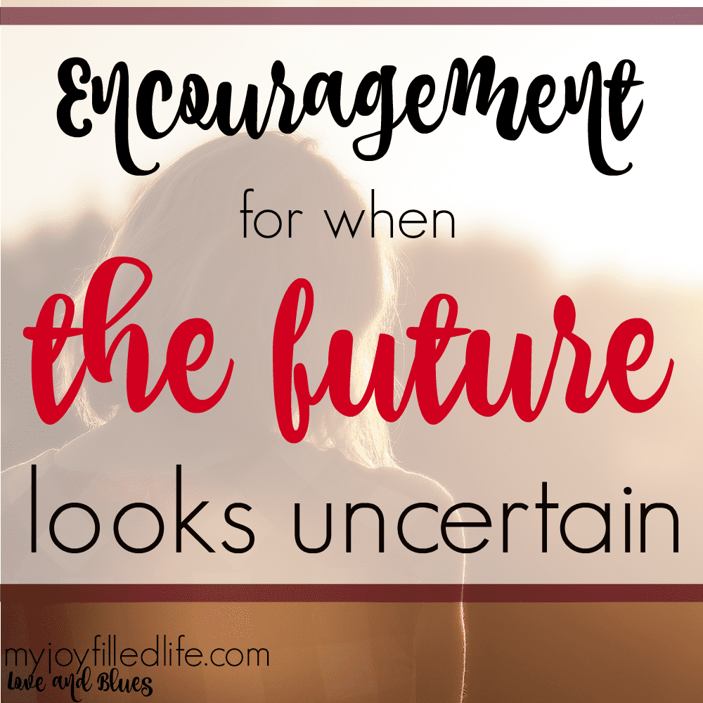 When The Future Looks Uncertain: Guest Post