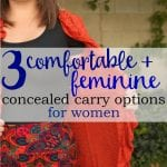 3 Comfortable and Feminine Concealed Carry Options For Women by Undertech Undercover