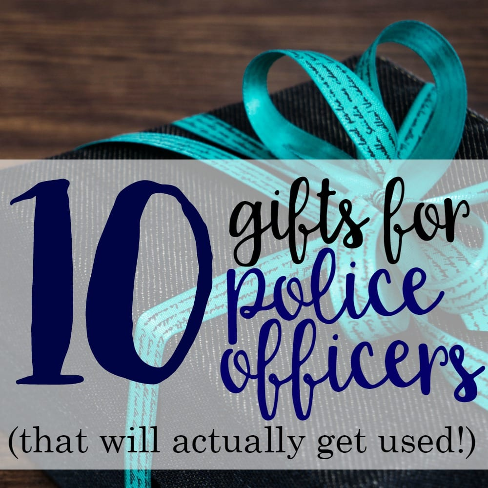 10 Gifts For Police Officers (That Will Actually Get Used)