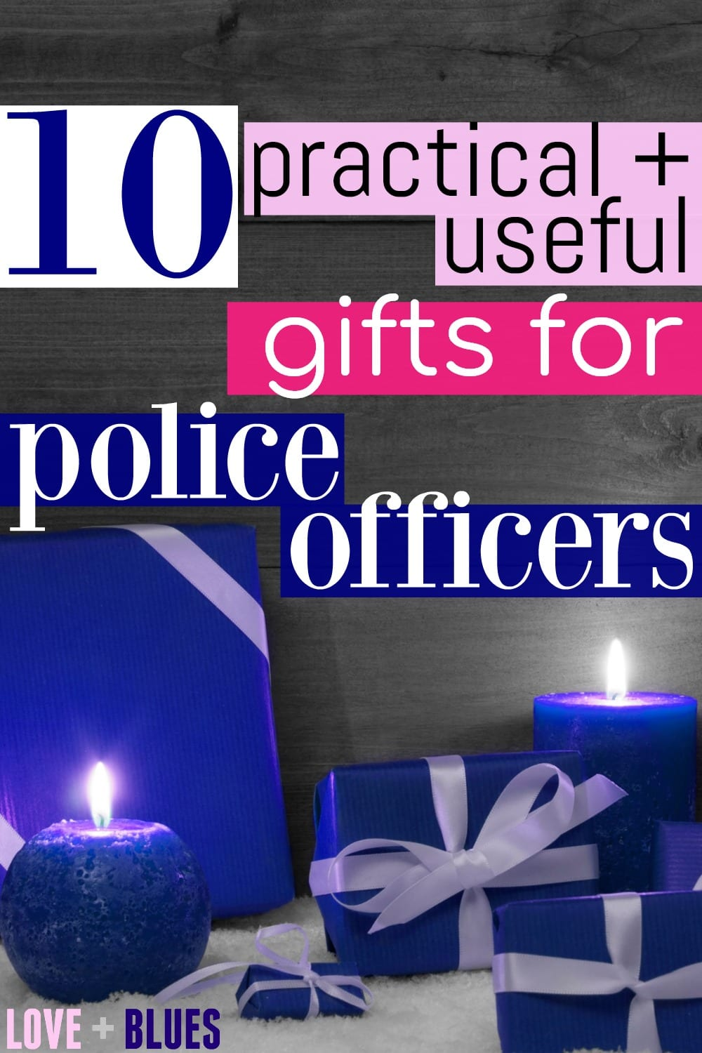 This is a great list! I'm obsessed with #8. I might have to get one for myself! But seriously, great gift ideas for police officers :)