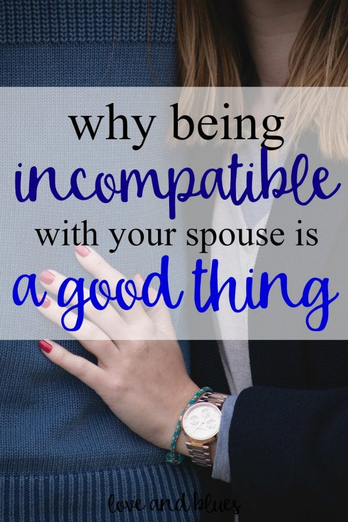 Love this!  My husband and I are seriously polar opposites - but I like to think our differences make us that much better.  And make for a happier marriage too :)