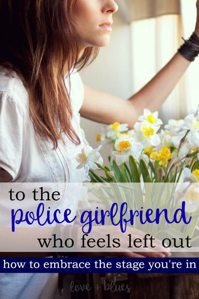 I love this. as a police girlfriend I sometimes feel a little disheartened at all the LEO wife stuff I find. It's nice to feel validated once in a while!