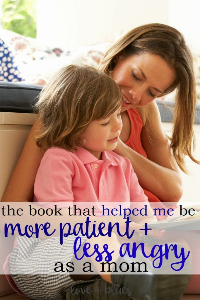 I can totally relate. As a police wife I spend so much time parenting by myself that I'm super short tempered with my kiddos. I want to be better but I wasn't sure how - I'll have to check this book out!