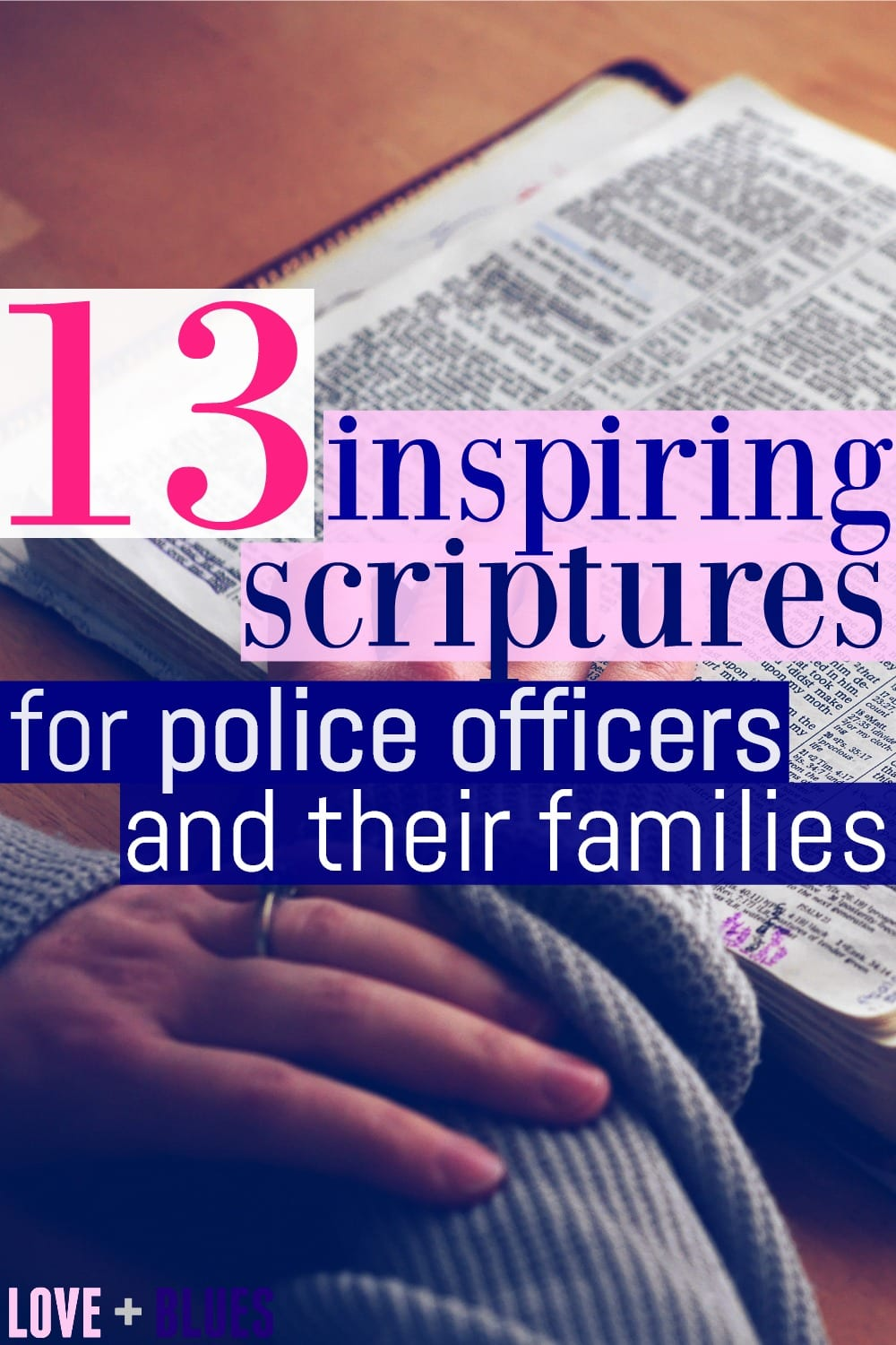 Great list!! I think I'll highlight these in my LEO's scriptures #policewifelife #inspiration