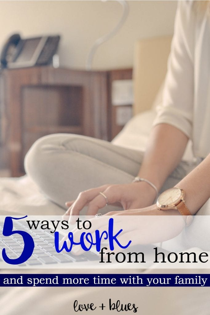 These are great ideas! It sucks to work as a police wife since it's hard to guarantee I see my husband like, ever - but working from home might be just the ticket.