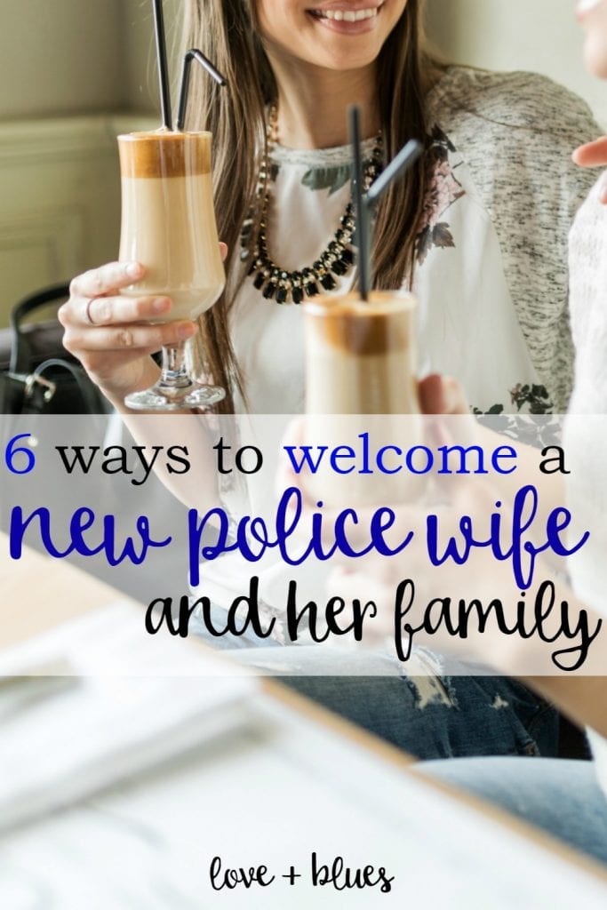 I love this!  As a new police wife, this is exactly what I would needed <3