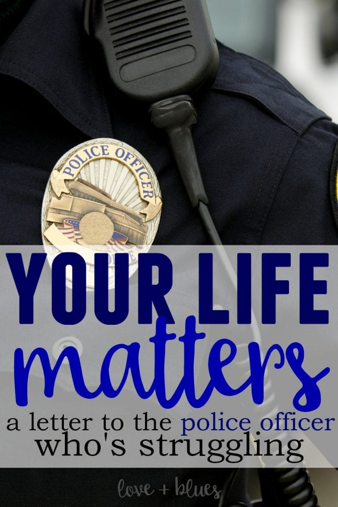 Share share share - please! The suicide rate for law enforcement is so scary high. As police wives we need to support our spouses - this is so amazing.