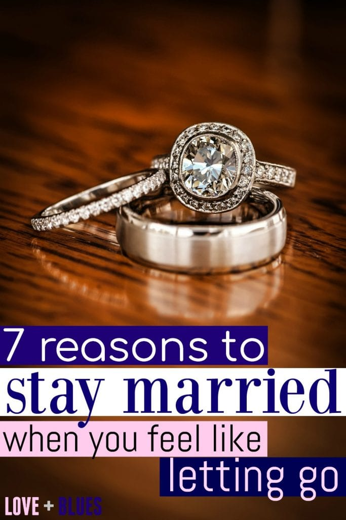 I needed to read this. Marriage isn't easy, but it's definitely worth it. These are solid reasons to stay married for sure! #marriedlife #policewife