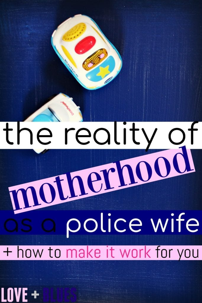This is 100% true. When you're a police wife, it's like you're a single mom. Just married, lol. It's hard, but I wouldn't trade my LEO for anything!! These are great tips on making it work.