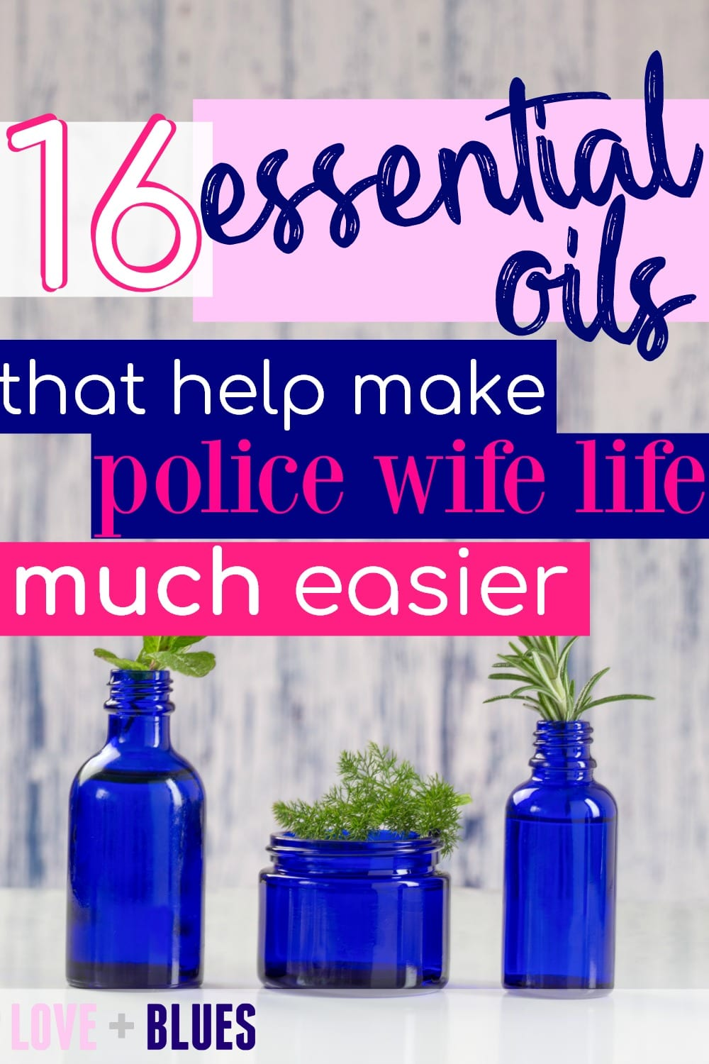 These are awesome! I've never been the crunchy type but I'm a fan of the idea of less stress (and you know, nice smells...) so essential oils couldn't hurt to try ;) #policewifelife #policewife