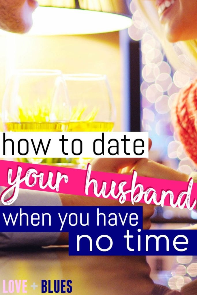 I mean you hear all the time how important it is to never stop dating your spouse but omg, try to date your husband when he's got a crazy schedule? No fun. Great tips!!