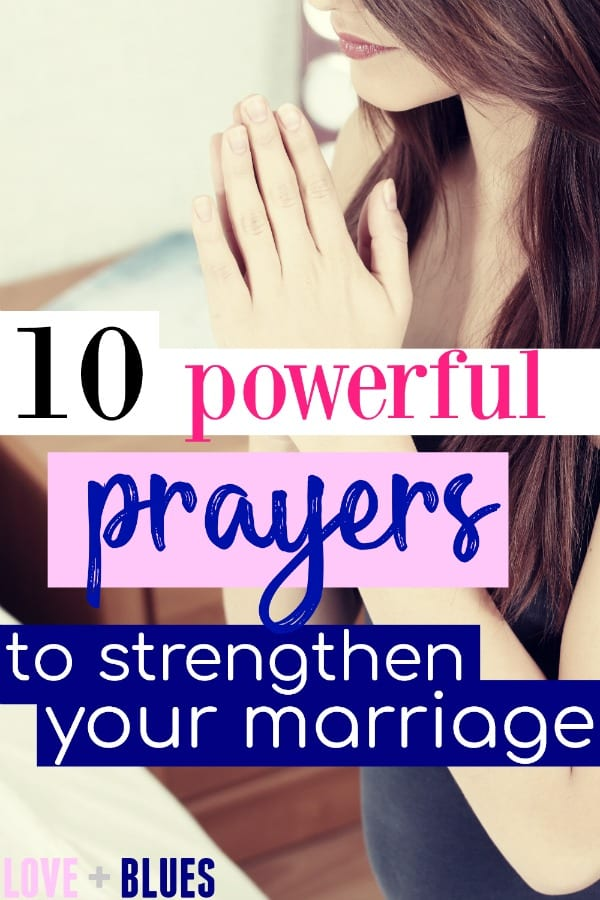 I love this! It's so important to pray for your marriage and these are definitely unique and POWERFUL ideas for how to do so. Printing this off for sure.