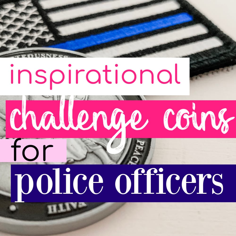 Unique Police Challenge Coins Every Officer Will Love - Love