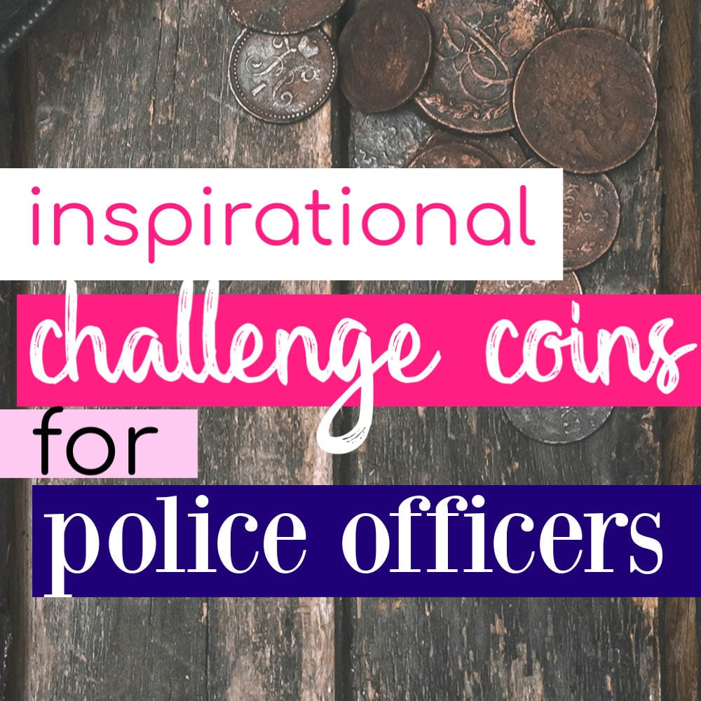 Police Challenge Coins Featured - Love and Blues