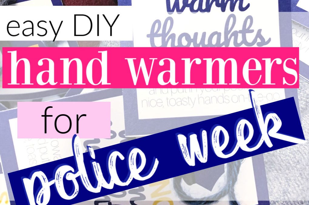 How To Make Simple Microwave Hand Warmers For Police Appreciation Day