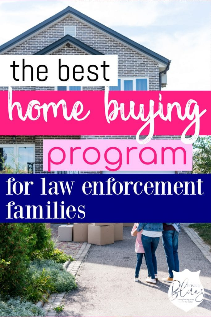 This is an amazing program that totally helps with home loans for police officers!