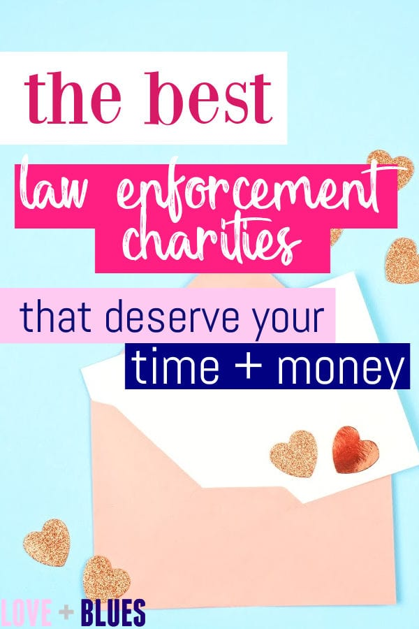 These are wonderful police charities to donate to!