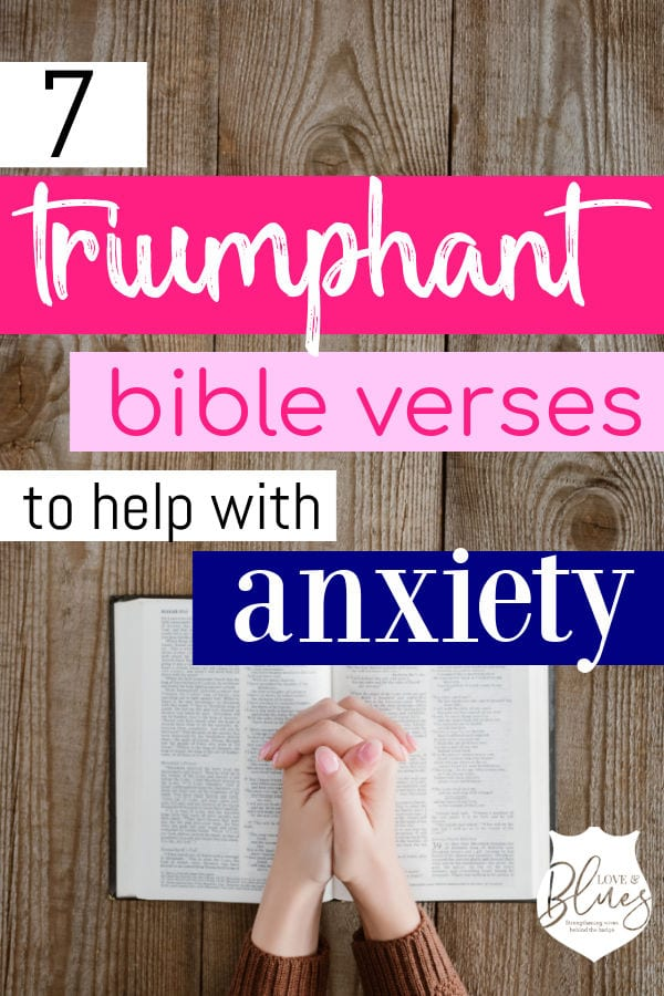 bible verses to help with anxiety pinterest